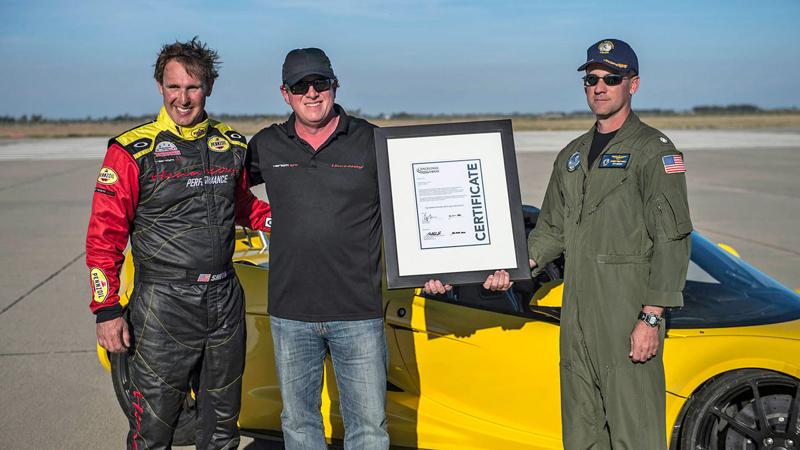 Hennessey Venom GT Spyder je nejrychlejší kabriolet na světě: - fotka 28