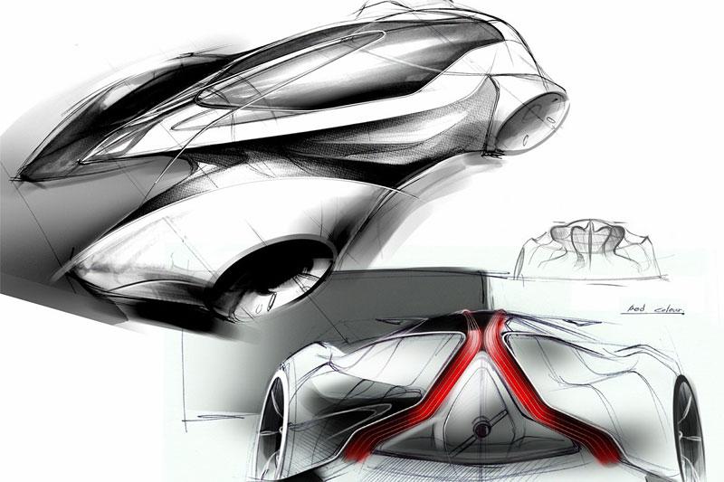 Saab: koncept sedanu pro rok 2025: - fotka 10