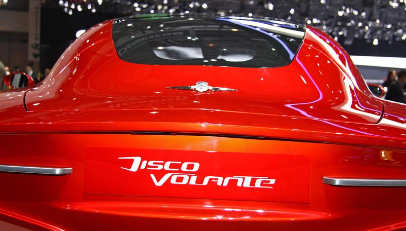 Carrozzeria Touring Superleggera Disco Volante: Z nehybného modelu produkční sportovec: - fotka 21