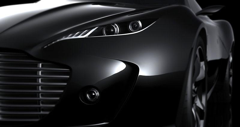 Aston Martin Gauntlet: Ugur Sahin představuje vizi nástupce V8 Vantage: - fotka 36