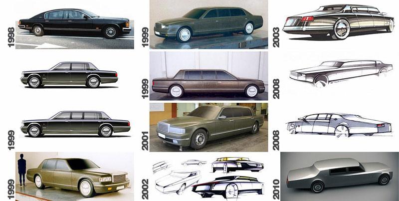 ZiL Concept: budoucnost prezidentských limuzín: - fotka 23