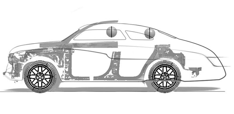 Russian Automotive Design: Mercury z Porsche Cayenne: - fotka 16