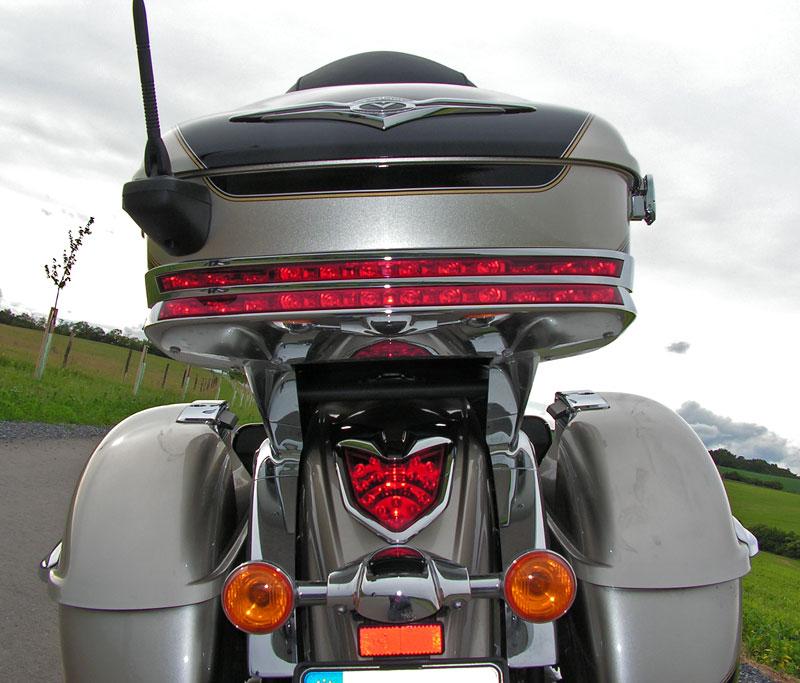Test: Kawasaki VN1700 Voyager a srovnání s Harley-Davidson Electra Glide: - fotka 36