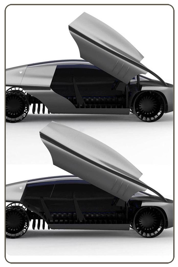 Maserati Quattroporte 2030: retro forever: - fotka 8