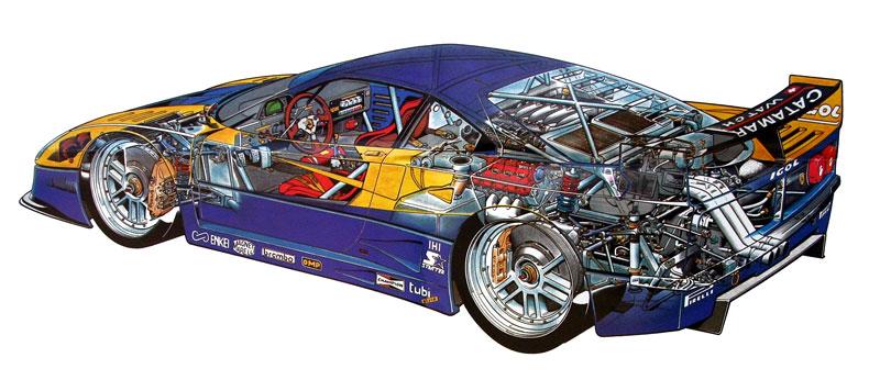 Muž si v garáži postavil celkem věrnou repliku Ferrari F40. Od základů, o stavebnici nejde: - fotka 26