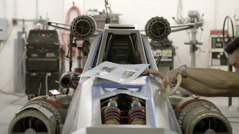 Hot Wheels X-Wing Carship: Vesmírná stíhačka na kolech (+video): - fotka 5
