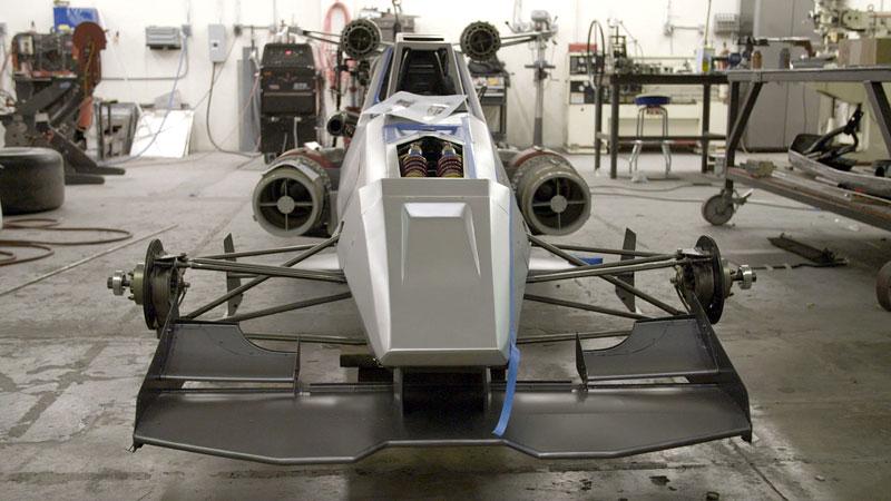 Hot Wheels X-Wing Carship: Vesmírná stíhačka na kolech (+video): - fotka 7