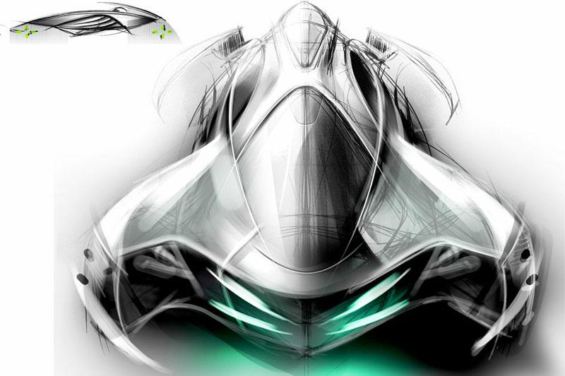 Saab: koncept sedanu pro rok 2025: - fotka 16