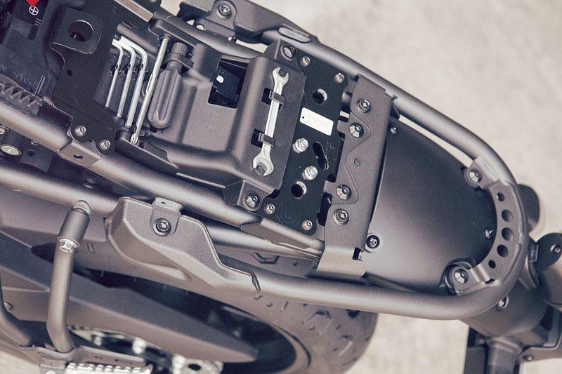 Yamaha XSR700: Rychlý potomek: - fotka 41