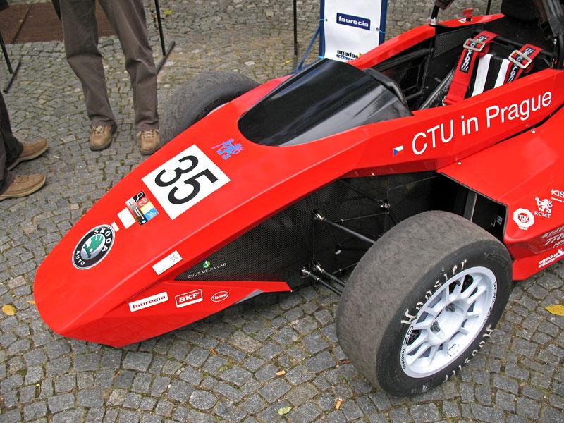 CTU CarTech FS.02: Studentská formule z pražského ČVUT: - fotka 39