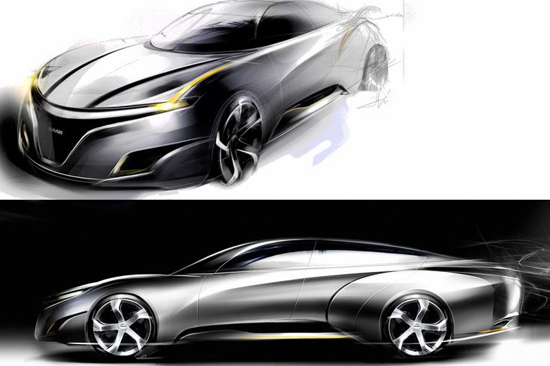 Saab: koncept sedanu pro rok 2025: - fotka 18