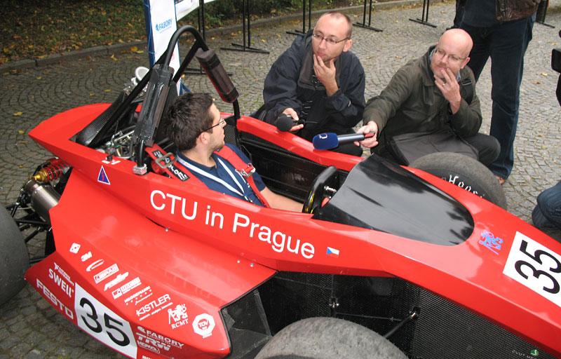 CTU CarTech FS.02: Studentská formule z pražského ČVUT: - fotka 40