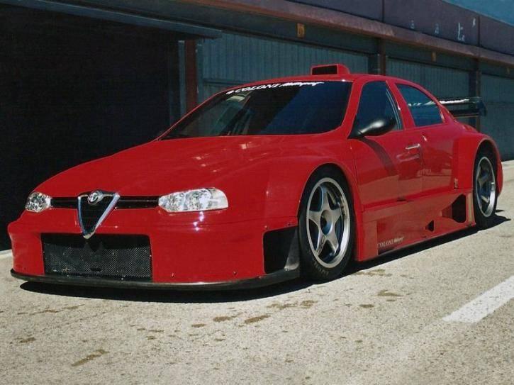 Na prodej je unikátní Alfa Romeo 156 Coloni S1. Jinou takovou nenajdete: - fotka 4