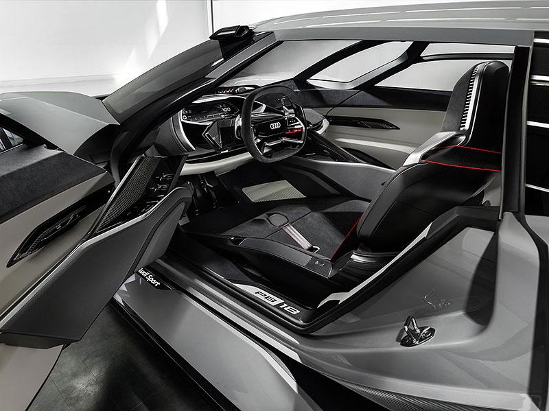 Audi bude vyrábět koncept PB18. Postaví ale jen 50 kusů: - fotka 1