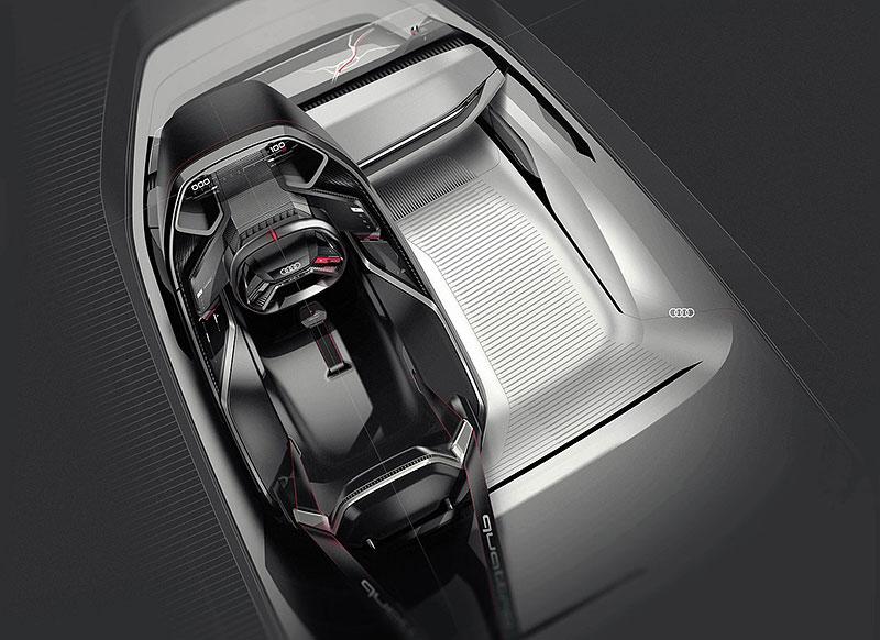Audi bude vyrábět koncept PB18. Postaví ale jen 50 kusů: - fotka 8