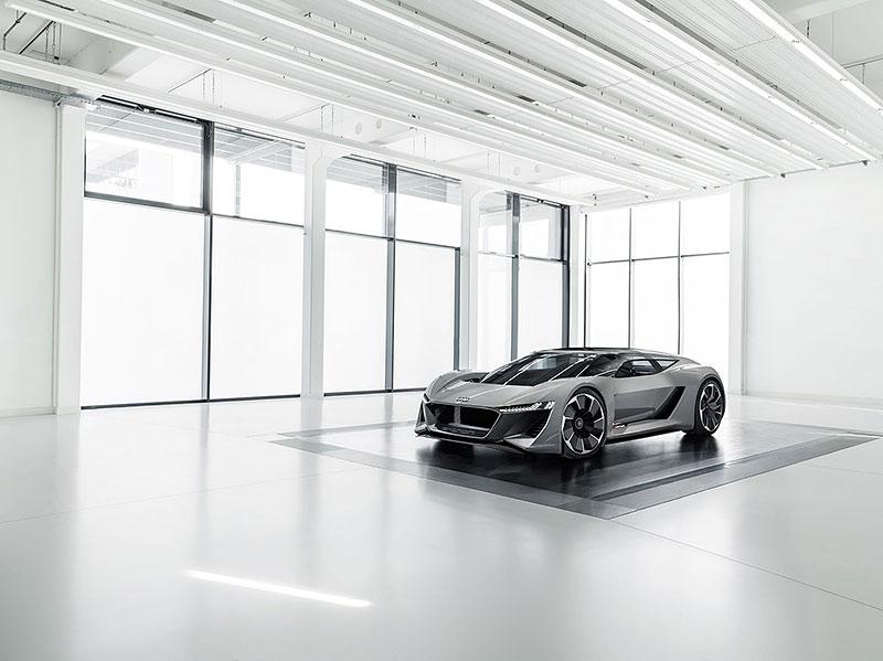 Audi bude vyrábět koncept PB18. Postaví ale jen 50 kusů: - fotka 11