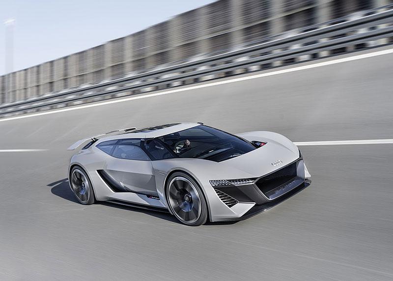 Audi bude vyrábět koncept PB18. Postaví ale jen 50 kusů: - fotka 14
