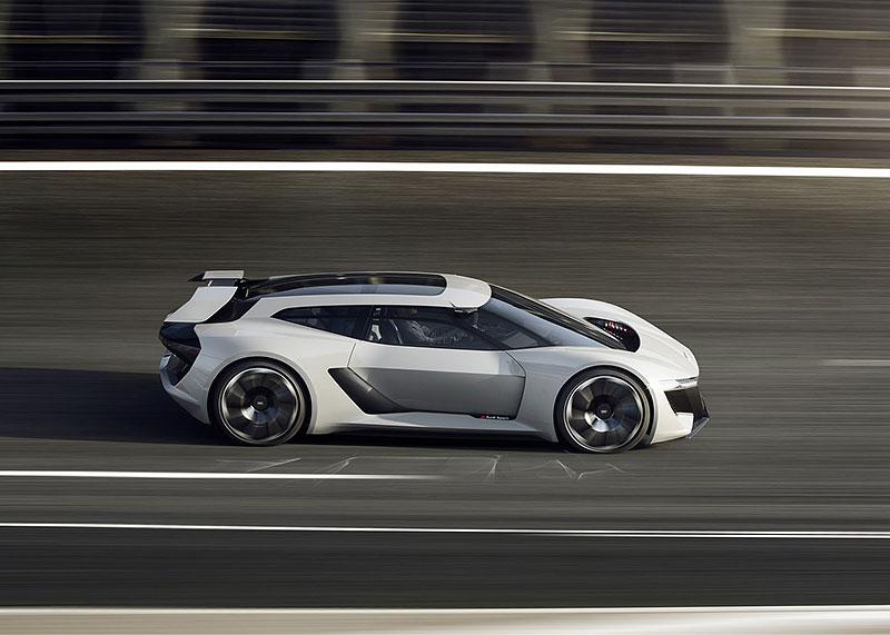 Audi bude vyrábět koncept PB18. Postaví ale jen 50 kusů: - fotka 16