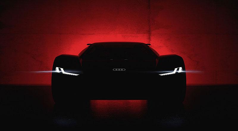 Audi bude vyrábět koncept PB18. Postaví ale jen 50 kusů: - fotka 25