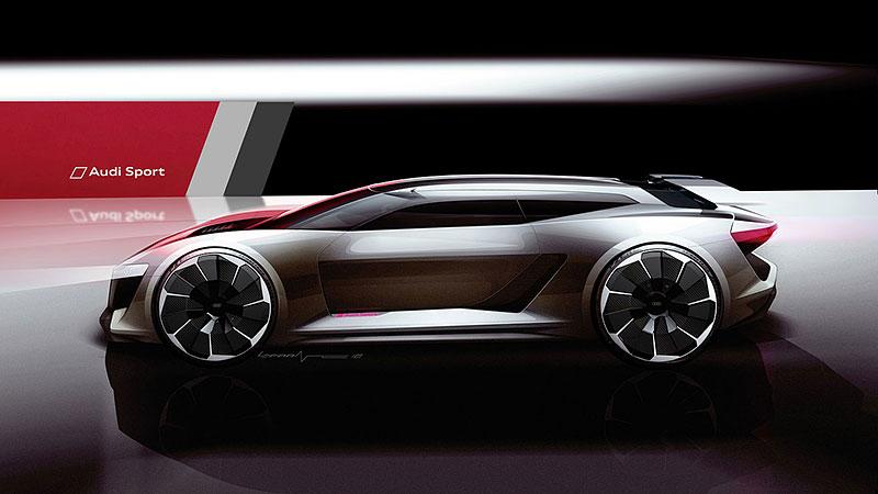Audi bude vyrábět koncept PB18. Postaví ale jen 50 kusů: - fotka 32