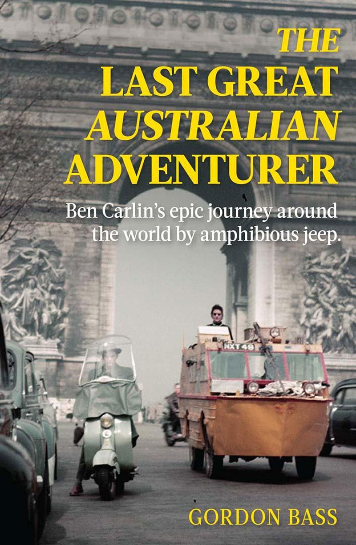 Slyšeli jste o Benu Carlinovi? Je to jediný člověk, který zvládl cestu kolem světa v obojživelném autě: - fotka 1