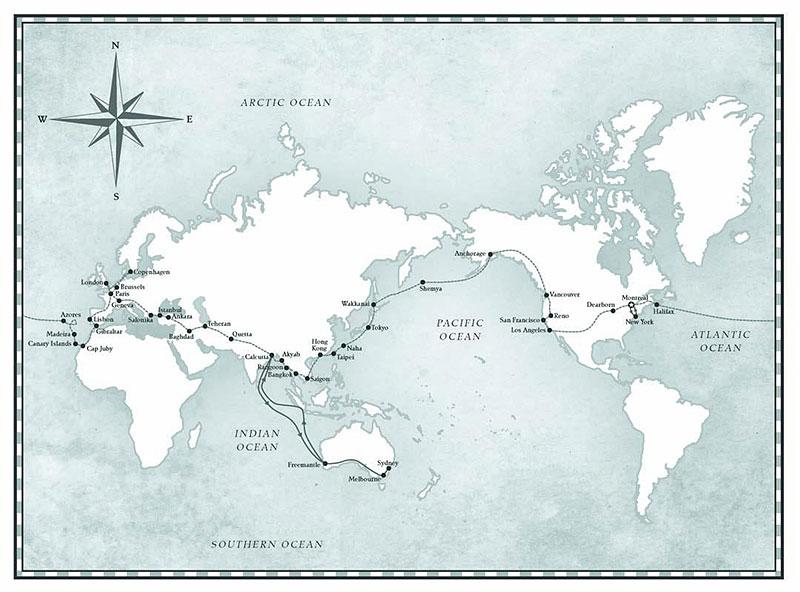 Slyšeli jste o Benu Carlinovi? Je to jediný člověk, který zvládl cestu kolem světa v obojživelném autě: - fotka 2