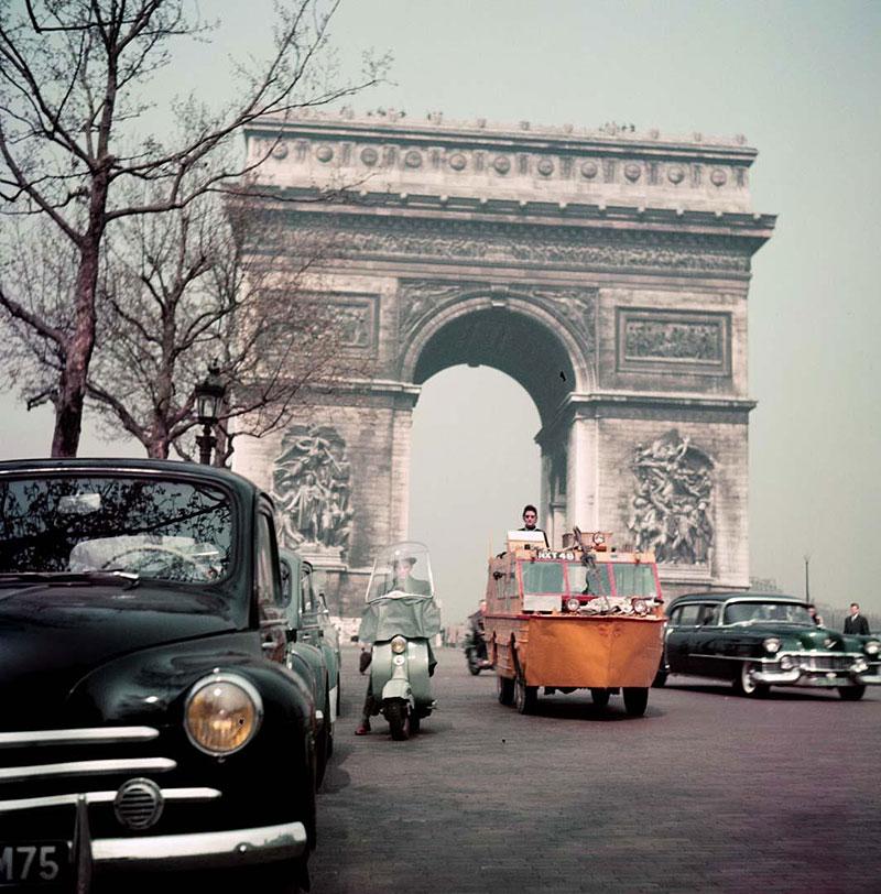 Slyšeli jste o Benu Carlinovi? Je to jediný člověk, který zvládl cestu kolem světa v obojživelném autě: - fotka 3
