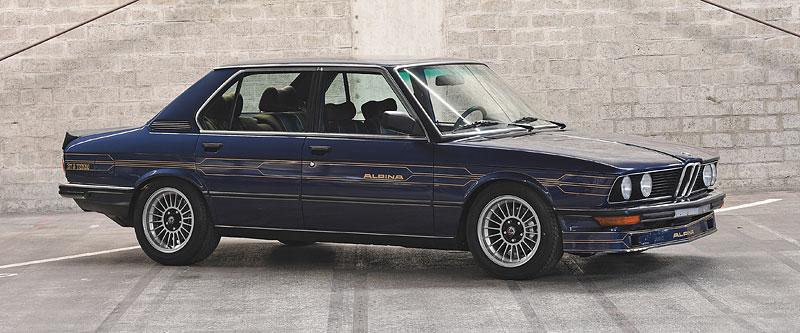 """Alpina B7 S Turbo byla vylepšená """"sedmička"""", která proháněla i supersporty. Právě teď je jedna na prodej: - fotka 3"""