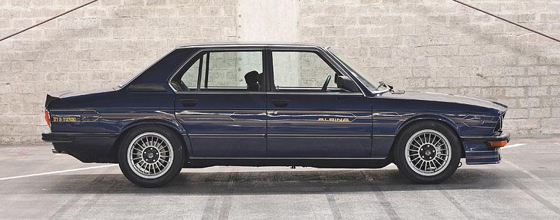 """Alpina B7 S Turbo byla vylepšená """"sedmička"""", která proháněla i supersporty. Právě teď je jedna na prodej: - fotka 4"""