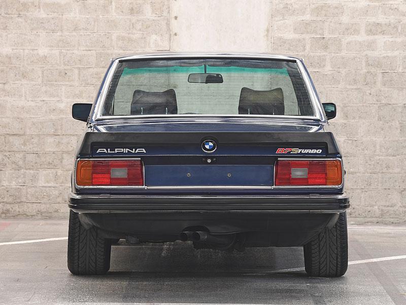 """Alpina B7 S Turbo byla vylepšená """"sedmička"""", která proháněla i supersporty. Právě teď je jedna na prodej: - fotka 6"""