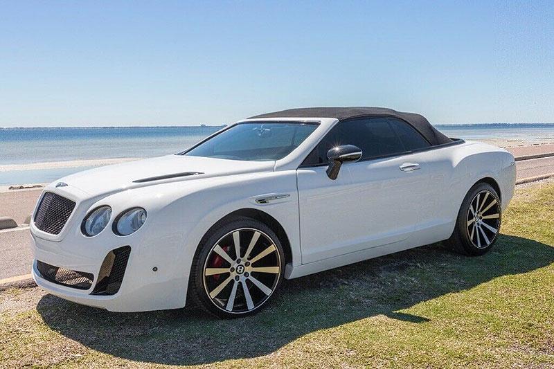 Vidíte kabriolet Bentley? Tohle auto není, čím se zdá: - fotka 7