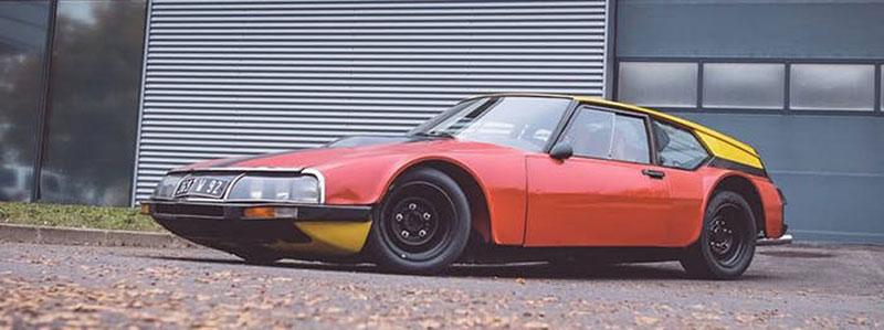 Znáte Citroën SM Proto Michelin? Placaté kupé vzniklo, aby našlo limit výkonu pro předokolky: - fotka 3