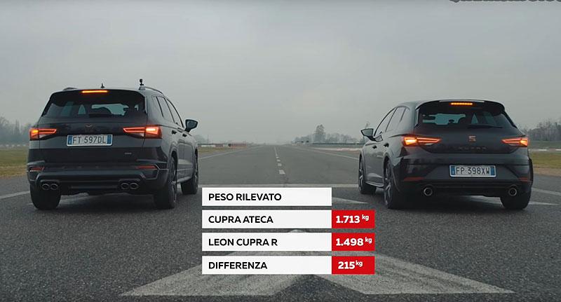 Cupra Ateca proti Leonu Cupra R. Může být SUV rychlejší než hot hatch?: - fotka 2
