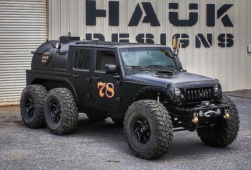 Americký úpravce stvořil šestikolový Jeep na parní pohon. Můžete ho mít: - fotka 5