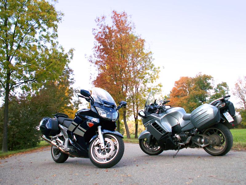 Dueltest - Yamaha FJR1300A vs. Kawasaki 1400GTR: - fotka 7