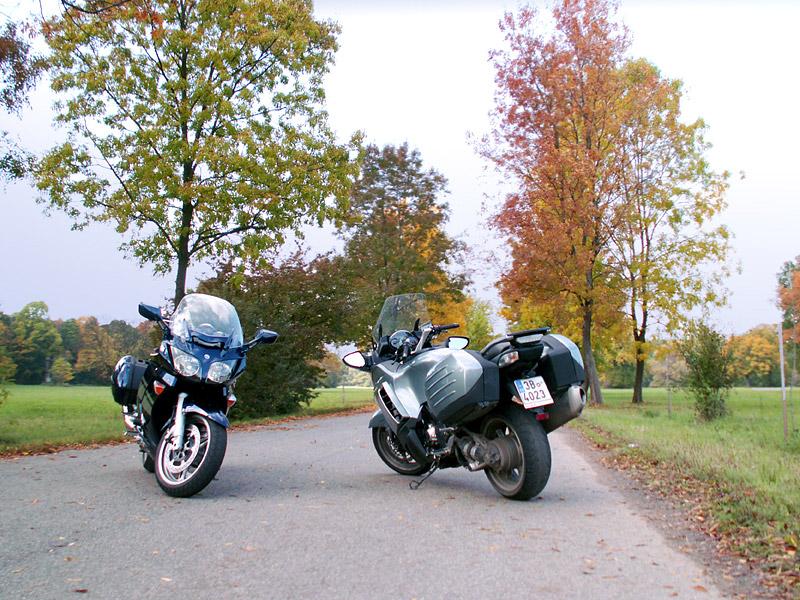 Dueltest - Yamaha FJR1300A vs. Kawasaki 1400GTR: - fotka 9