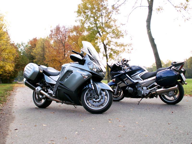 Dueltest - Yamaha FJR1300A vs. Kawasaki 1400GTR: - fotka 11