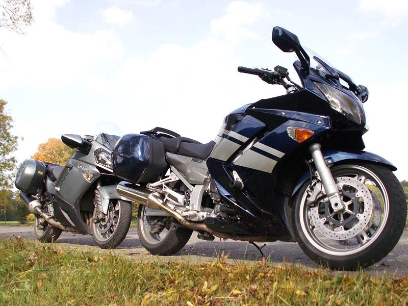 Dueltest - Yamaha FJR1300A vs. Kawasaki 1400GTR: - fotka 21