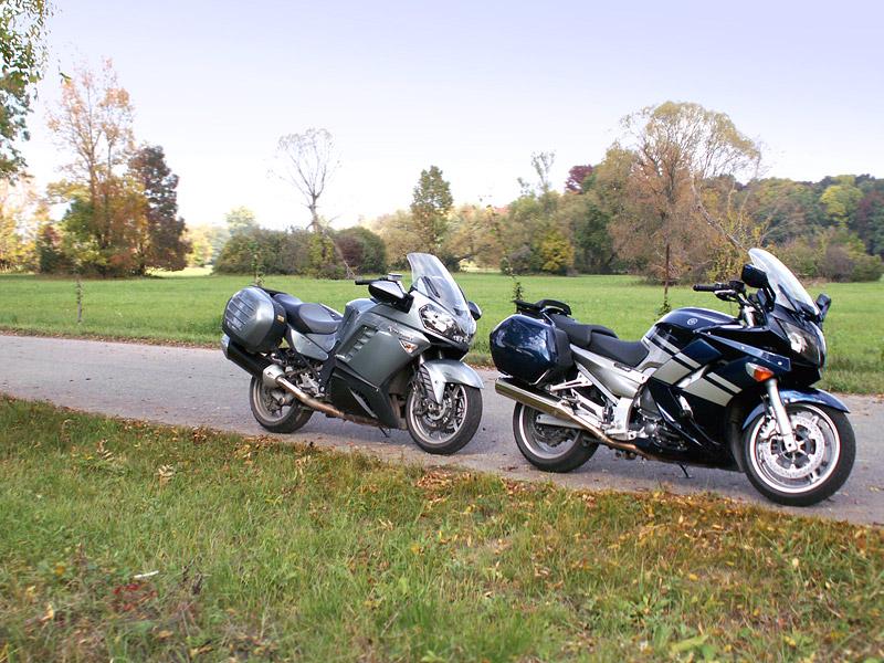 Dueltest - Yamaha FJR1300A vs. Kawasaki 1400GTR: - fotka 22