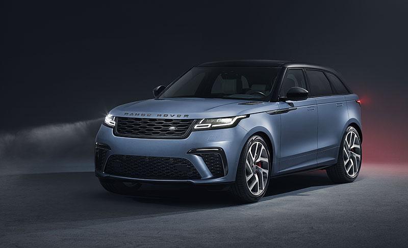 Range Rover Velar má novou vrcholnou verzi. Pohání ji osmiválec o výkonu 550 koní: - fotka 10