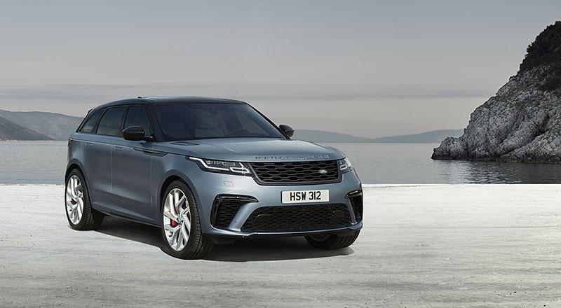 Range Rover Velar má novou vrcholnou verzi. Pohání ji osmiválec o výkonu 550 koní: - fotka 14