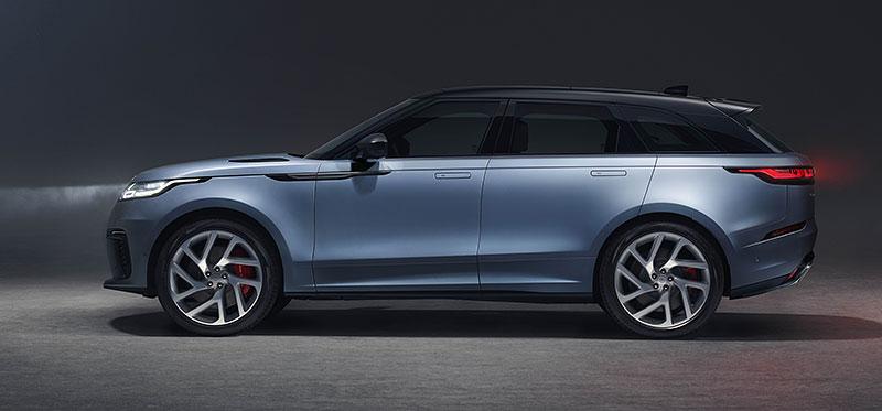 Range Rover Velar má novou vrcholnou verzi. Pohání ji osmiválec o výkonu 550 koní: - fotka 18