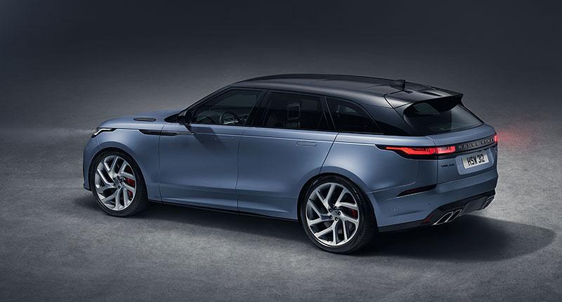 Range Rover Velar má novou vrcholnou verzi. Pohání ji osmiválec o výkonu 550 koní: - fotka 21