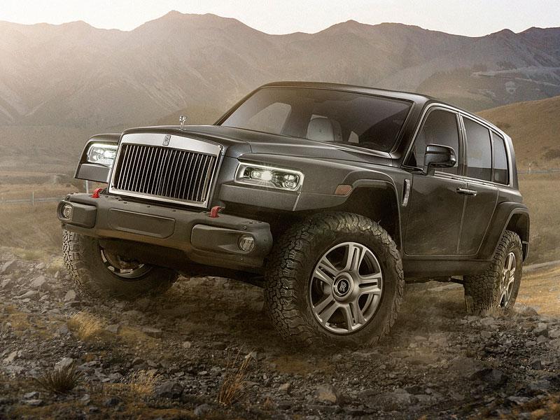 Co kdyby se Rolls-Royce vrhl na další segmenty? Mohlo by to vypadat nějak takhle: - fotka 1