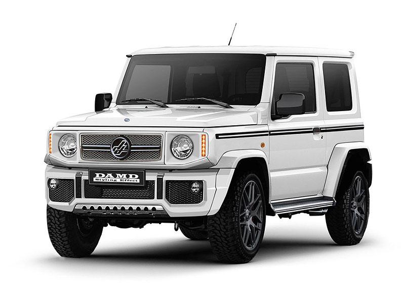 V Japonsku vám ze Suzuki Jimny udělají Mercedes třídy G nebo Land Rover Defender: - fotka 4