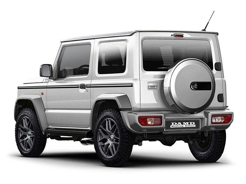 V Japonsku vám ze Suzuki Jimny udělají Mercedes třídy G nebo Land Rover Defender: - fotka 5