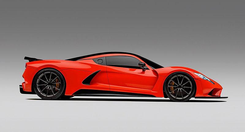 Hennessey Venom F5 chce jet 500 km/h. Zbývá prý vyřešit už jen dva problémy: - fotka 1