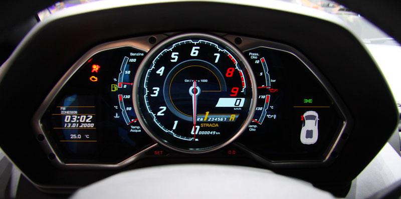 Ženeva 2011 živě: Lamborghini Aventador LP700-4: - fotka 1