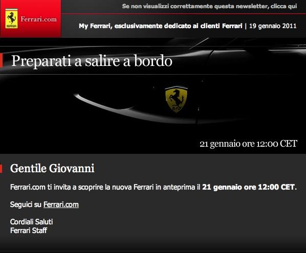 Nástupce Ferrari 612 Scaglietti: premiéra pro VIP už zítra: - fotka 1