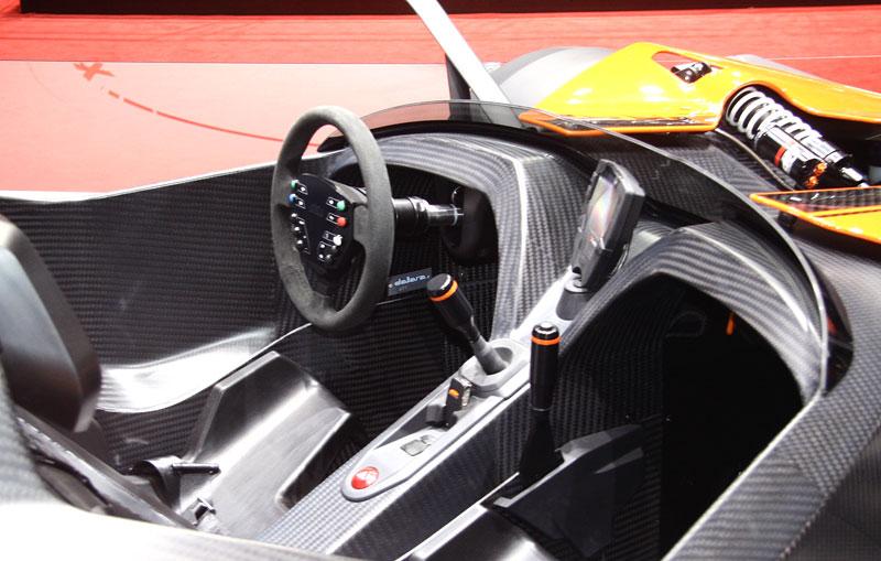 Ženeva živě: KTM X-Bow Dallara: - fotka 4